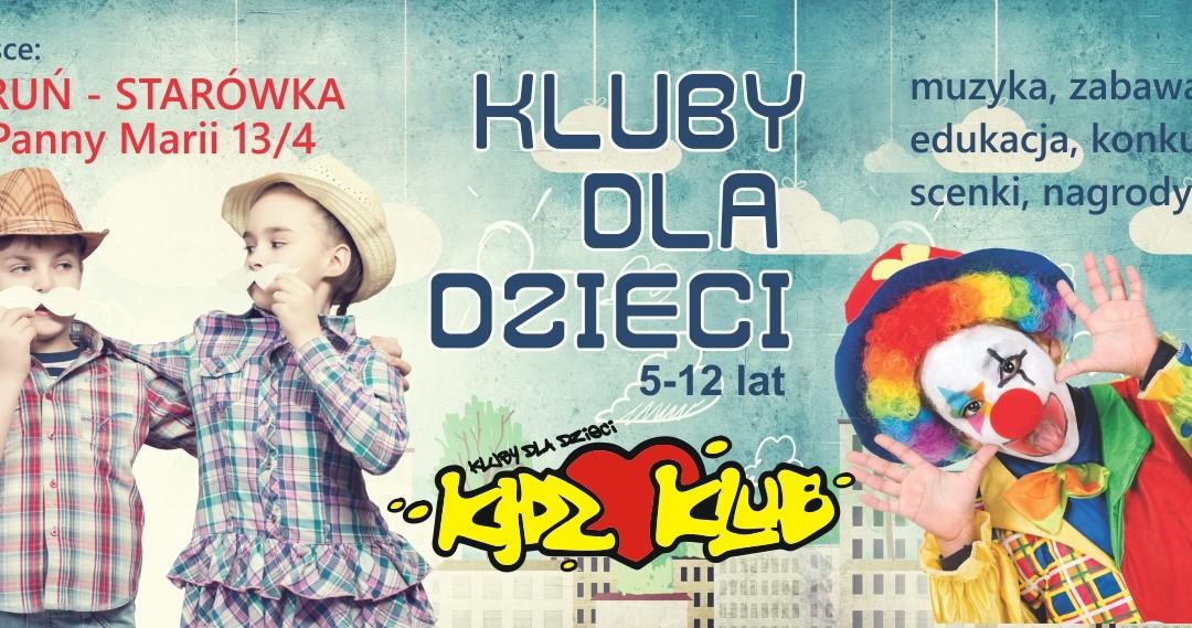 Zajęcia Kidz Klub w Toruniu