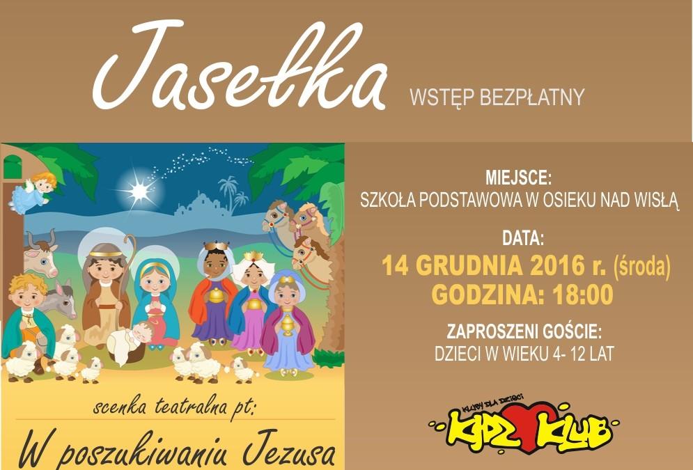 Jasełka dla dzieci w gminie Obrowo